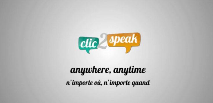 clic2speak – publicité